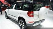 Skoda Yeti LWB rear angle at Auto Shanghai 2015