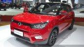 Ssangyong Tivolan front three quarter view at Auto Shanghai 2015