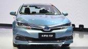 Toyota Corolla Hybrid front at Auto Shanghai 2015