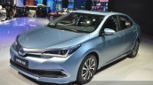 Toyota Corolla Hybrid front three quarter at Auto Shanghai 2015