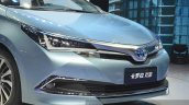 Toyota Corolla Hybrid grille at Auto Shanghai 2015