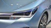 Toyota Corolla Hybrid headlamp at Auto Shanghai 2015