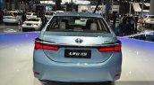Toyota Corolla Hybrid rear at Auto Shanghai 2015