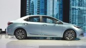 Toyota Corolla Hybrid side at Auto Shanghai 2015