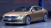 VW C Coupe GTE Concept lights on at VW Group Night Shanghai 2015