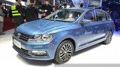 VW Gran Santana front three quarter view at Auto Shanghai 2015