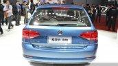 VW Gran Santana rear at Auto Shanghai 2015