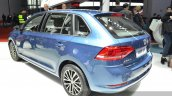 VW Gran Santana rear three quarter view at Auto Shanghai 2015