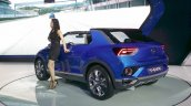 VW T-ROC rear three quarter left at the 2015 Seoul Motor Show