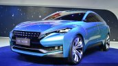 Venucia VOW concept front three quarter right at Auto Shanghai 2015