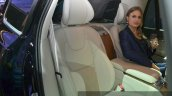 Volvo XC90 Excellence rear seat at Auto Shanghai 2015