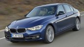 2015 BMW 3 Series facelift front quarter leaked