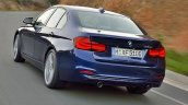 2015 BMW 3 Series facelift rear leaked