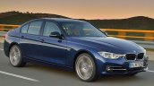 2015 BMW 3 Series front quarters facelift leaked