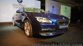 2015 BMW 6 Series Gran Coupe facelift front quarter