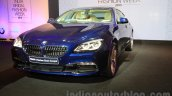 2015 BMW 6 Series Gran Coupe facelift front quarters