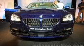 2015 BMW 6 Series Gran Coupe facelift front