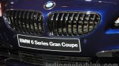 2015 BMW 6 Series Gran Coupe facelift grille