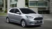 2015 Ford Figo hatchback for South Africa front quarter press image