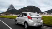 2015 Ford Figo hatchback for South Africa rear quarter press image
