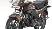 2015 Hero Passion Pro facelift front quarter