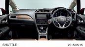 2015 Honda Shuttle wood finish interior