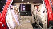 2015 Mahindra XUV500 facelift W10 rear seats