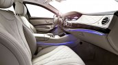 2015 Mercedes S600 Guard front seats