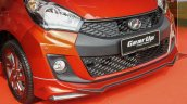 2015 Perodua Myvi Advance Front fascia with Gear Up accessories