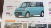 2015 Suzuki Spacia G and X front three quarter brochure leak