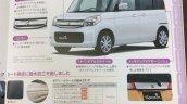 2015 Suzuki Spacia T front three quarter brochure leak