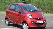 2015 Tata Nano GenX AMT front three quarters