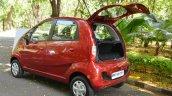2015 Tata Nano GenX AMT rear quarter boot open