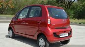 2015 Tata Nano GenX AMT rear quarters