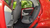2015 Tata Nano GenX AMT rear seat space