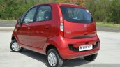 2015 Tata Nano GenX AMT rear three quarters