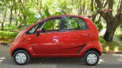2015 Tata Nano GenX AMT side with boot open