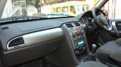 2015 Tata Safari Storme facelift dashboard Brown