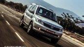 2015 Tata Safari Storme facelift front quarter