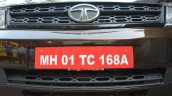 2015 Tata Safari Storme facelift grille Brown