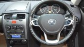2015 Tata Safari Storme facelift steering Brown