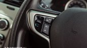 2015 Tata Safari Storme facelift steering controls