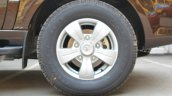 2015 Tata Safari Storme facelift wheel Brown