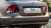 2015 VW Polo Sedan rear for Russia