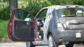 2016 Fiat 500 door open spied in Turin
