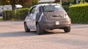 2016 Fiat 500 rear quarter spied in Turin