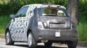 2016 Fiat 500 rear spied in Turin
