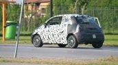 2016 Fiat 500 rear three quarter spied in Turin