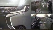 2016 Mitsubishi Outlander facelift interior brochure