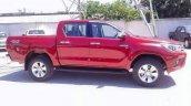2016 Toyota Hilux Revo Red spied